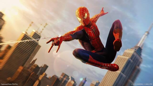 Spider-Man de PS4 recibe el traje de la trilogía de Sam Raimi