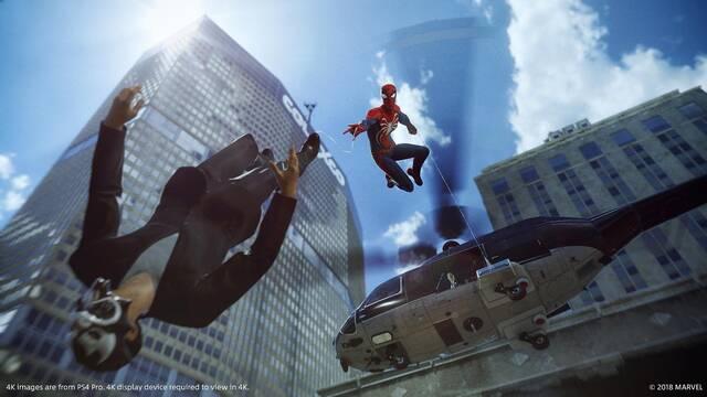 Spider-Man detalla sus misiones secundarias y algunos de los gadgets