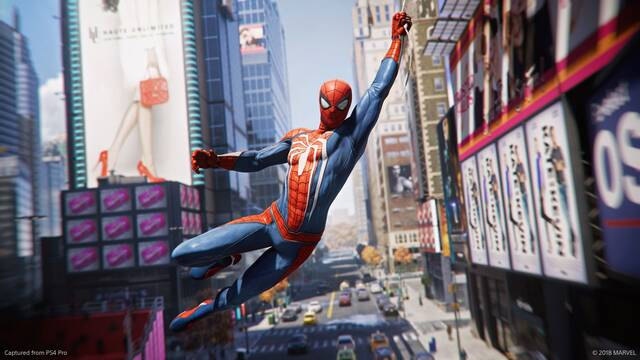 Spider-Man para PS4 a 60 fps