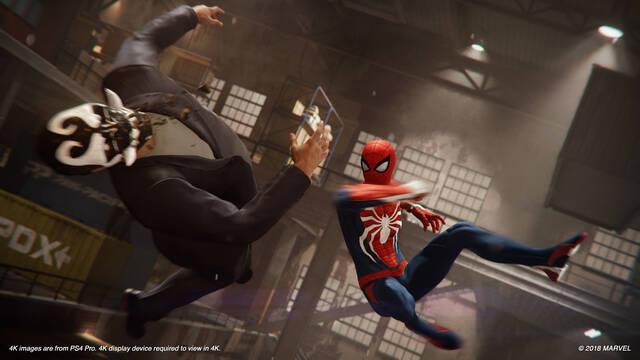 Así funciona el sistema de combate de Spider-Man