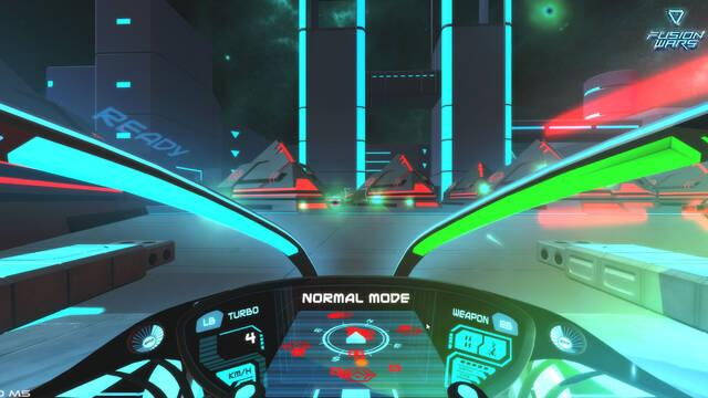Así será Fusion Wars para la realidad virtual