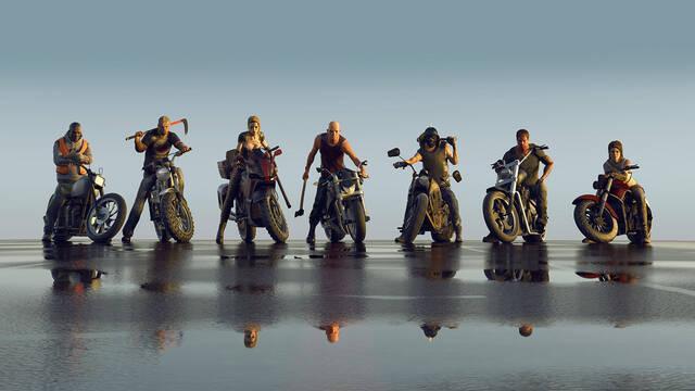 Motos y acción se unirán en Road Rage