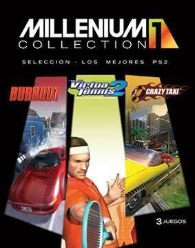 Burnout, Crazy Taxi y Virtua Tennis 2 por 69.95 en la Millenium Collection de Acclaim