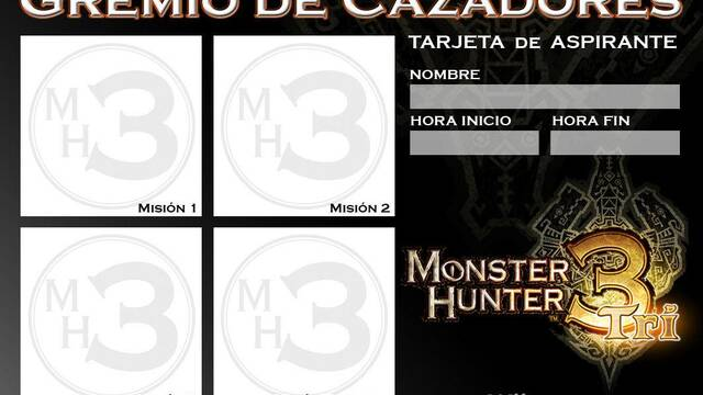 Nintendo busca al mejor cazador de Monster Hunter Tri