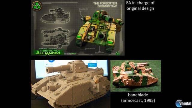 EA es acusada de plagiar un tanque de Warhammer