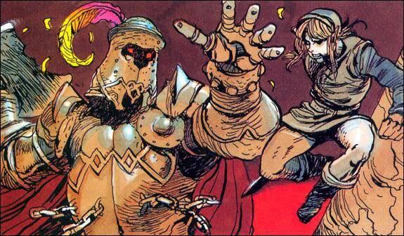 Se muestran las ilustraciones originales de The Legend of Zelda