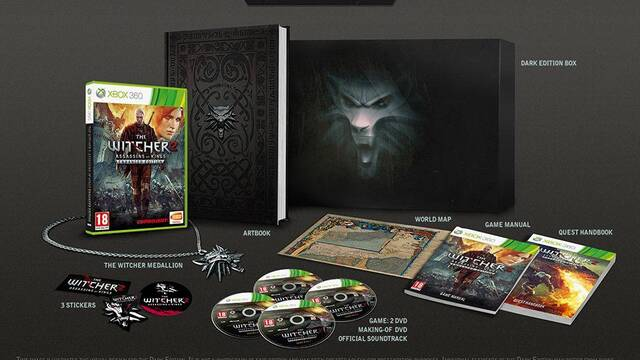 Namco Bandai lanzará más 'Dark Editions' de The Witcher 2 para Xbox 360