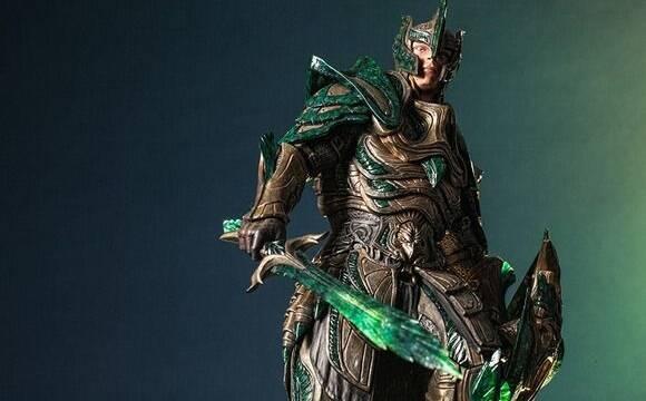 Gaming Heads presenta la figura de la Glass Armor de Skyrim