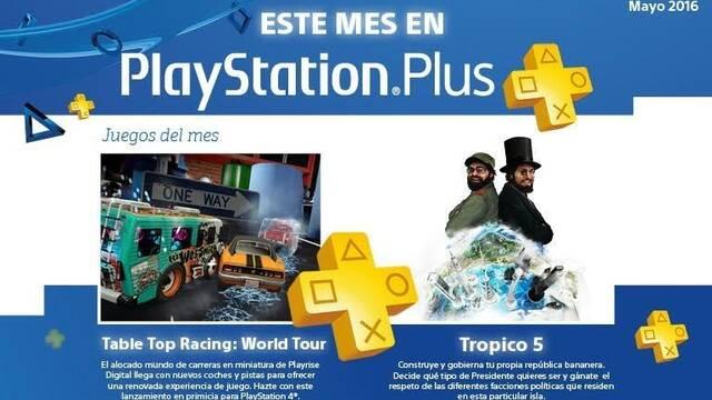 Anunciados los videojuegos de PS Plus para el mes de mayo