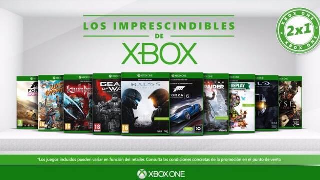 Xbox España anuncia su nueva promoción 2x1 'Los Imprescindibles de Xbox'