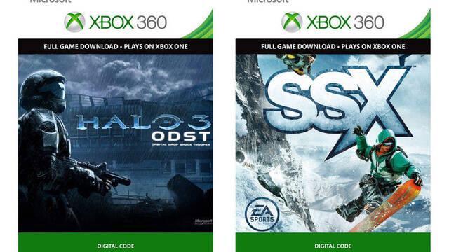SSX y Halo 3: ODST podrían llegar a la retrocompatibilidad de Xbox One en junio