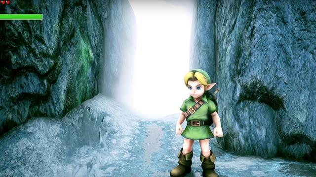 Un fan recrea los dominios de los Zora de Ocarina of Time con Unreal Engine 4