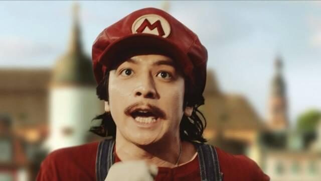 Mario y compañía anuncian una bebida energética en Japón