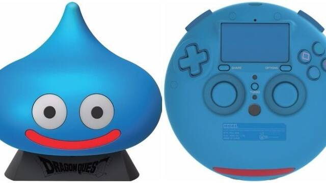 Así es el extraño mando para PS4 de Dragon Quest