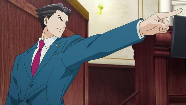 La serie de animación de Ace Attorney llega a Steam