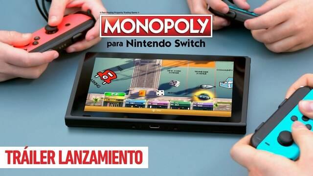 El clásico Monopoly tendrá juego en Nintendo Switch