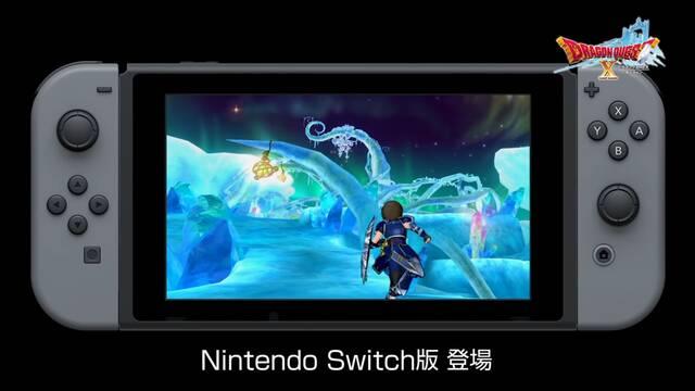 Dragon Quest X llegará a Switch en Japón este otoño