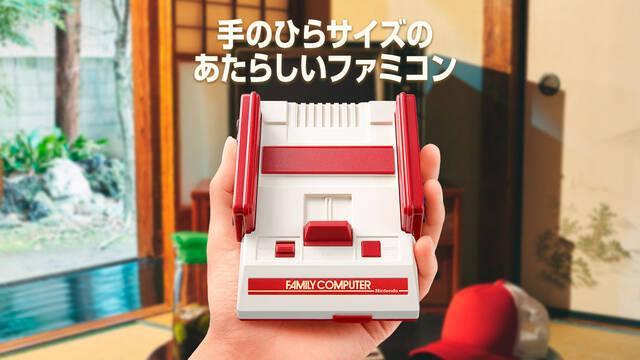 Nintendo detiene la producción de Famicom Mini en Japón