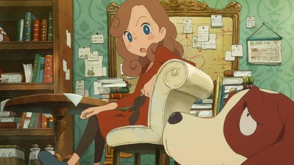 Lady Layton cambia su título y recibe un nuevo tráiler de sus escenas animadas