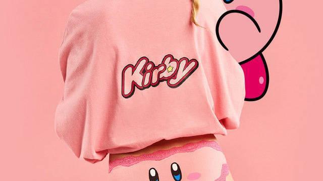 Kirby tendrá su propia línea de lencería en Japón