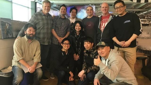 El director de Final Fantasy XV y su equipo visitan a los creadores de Forza