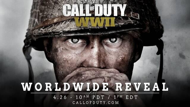 Activision anuncia oficialmente Call of Duty: WWII
