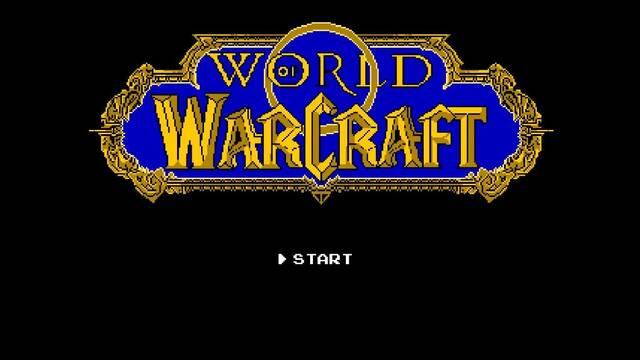 Imaginan cómo sería World of Warcraft en una NES