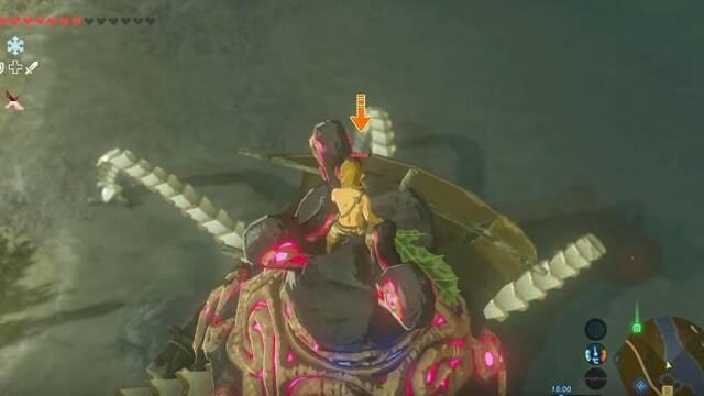 Idea una forma para desplazarse por aire en Zelda: Breath of the Wild