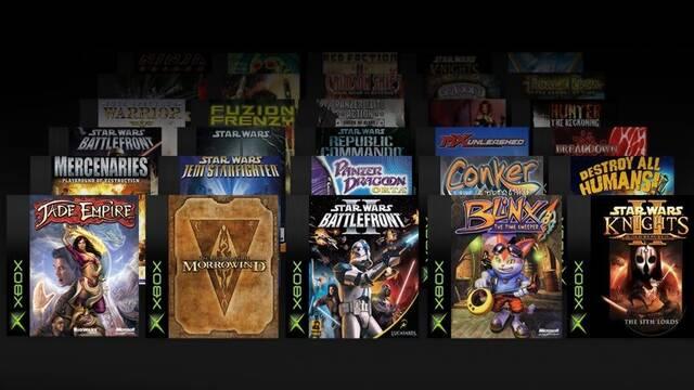 19 juegos de la primera Xbox llegan a One este mes