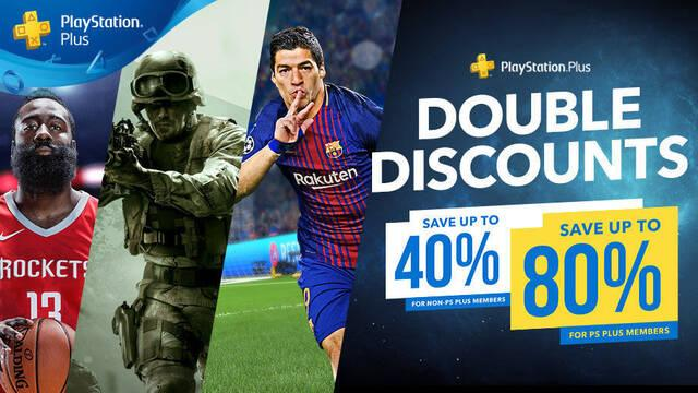 Vuelven los descuentos dobles de PlayStation Plus a PS Store