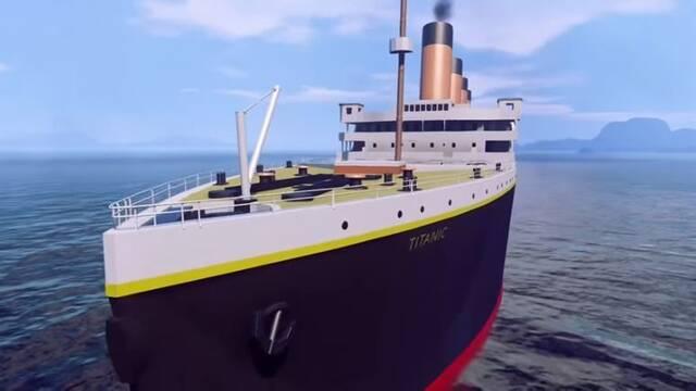 Recrean el Titanic en Halo 5
