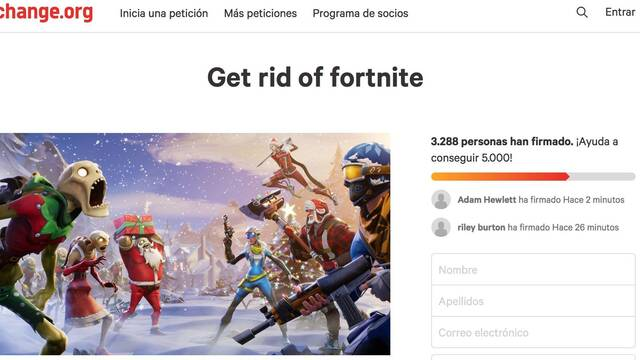 Miles de novias y madres firman petición de broma para prohibir Fortnite