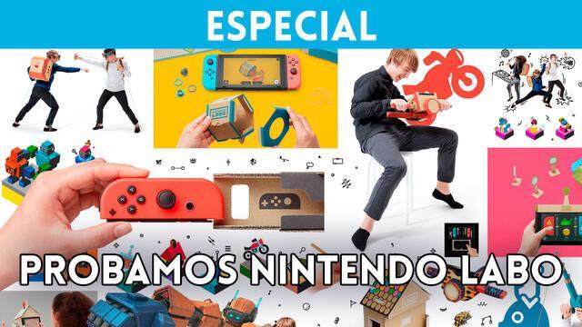 Así fue nuestra experiencia en Vandal con Nintendo Labo