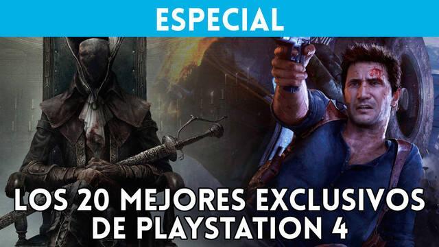 Videoespecial: Los 20 mejores exclusivos de PlayStation 4