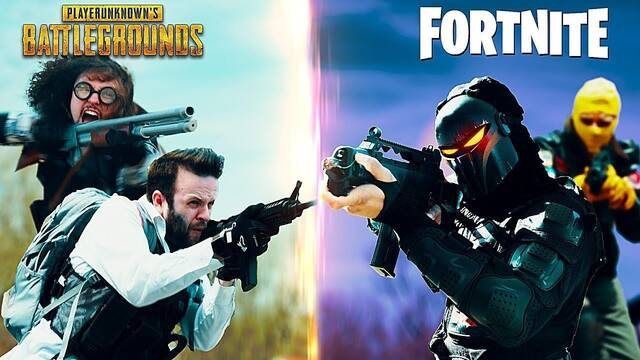 La batalla definitiva entre PUBG y Fortnite se vuelve real