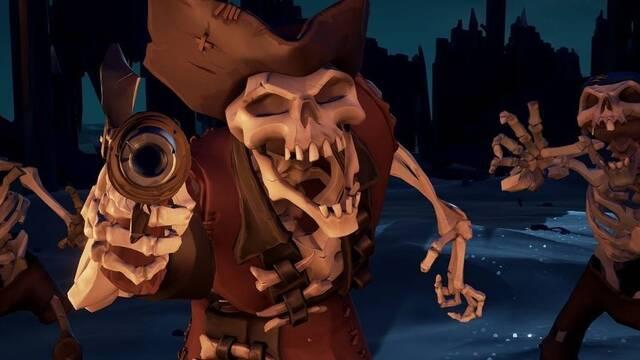 Esqueletos: tipos y cómo derrotarlos en Sea of Thieves