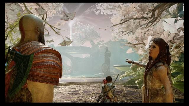 La luz de Alfheim - Misión historia God of War PS4