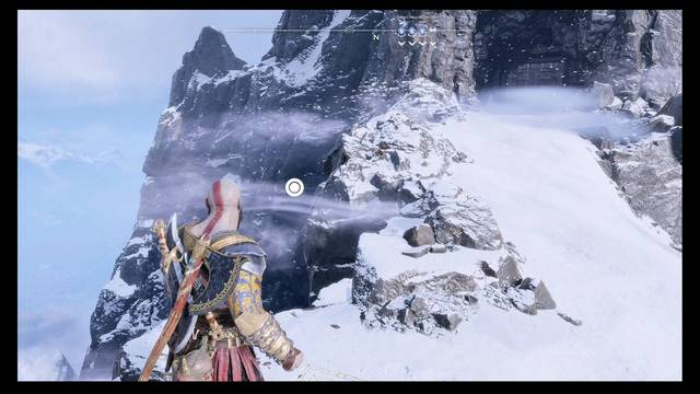 Camara oculta de Odín 5 en Midgard: Montaña - God of War (PS4)