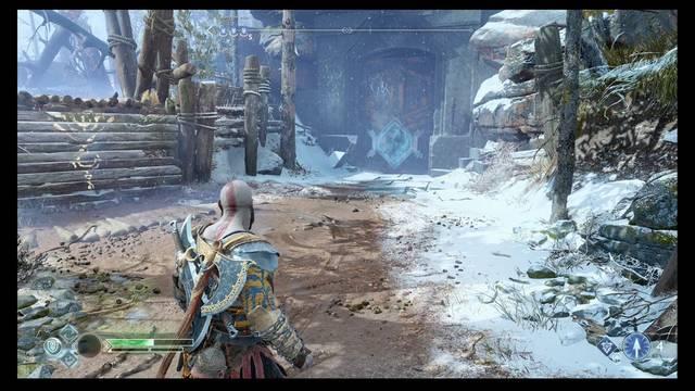Camara oculta de Odín 1 en Midgard: Cerca de la casa - God of War (PS4)
