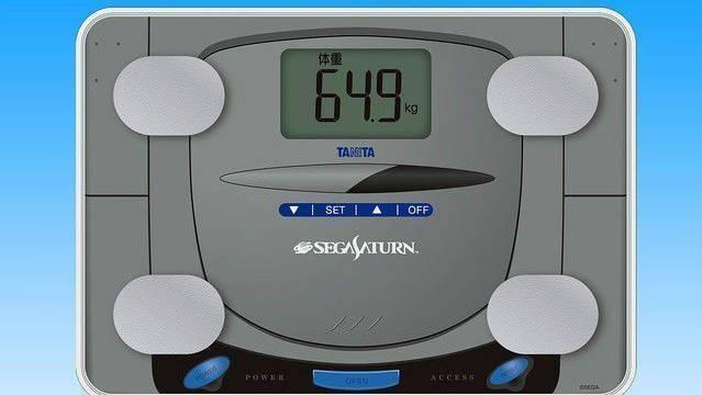Sega Saturn renace bajo la forma de báscula digital