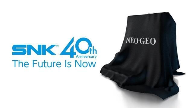 SNK prepara nuevo hardware por su 40 aniversario con juegos de Neo Geo