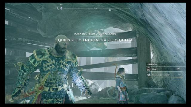 TODOS los Mapas del tesoro en God of War (PS4) y localización del botín