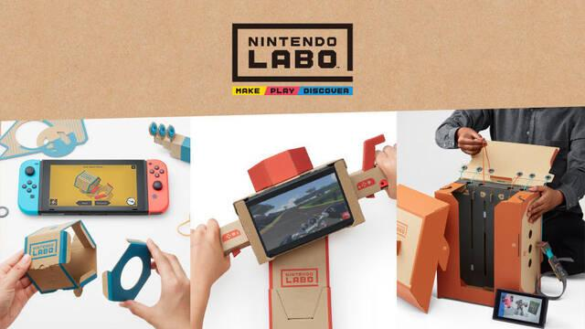 Nintendo comienza a vender repuestos para Labo: Estos son sus precios