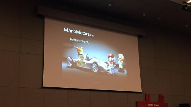Yoot Saito trabajó en un juego de motor con Mario como protagonista