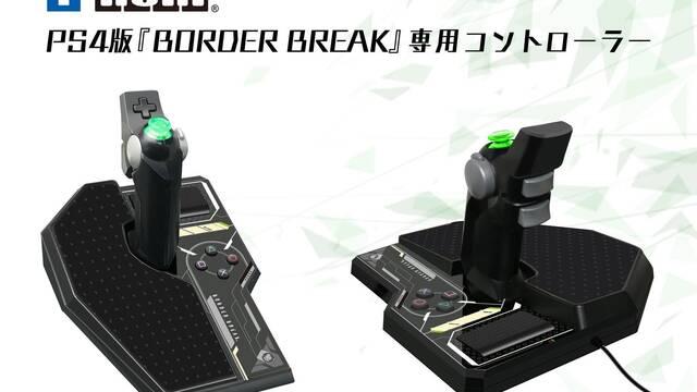 Hori anuncia un espectacular mando para el juego de robots Border Break