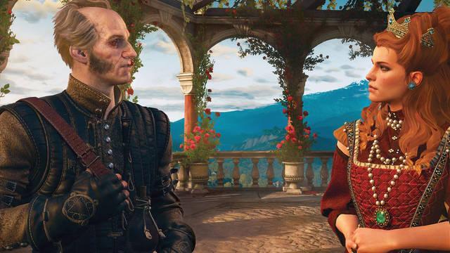 El hombre de Cintra en The Witcher 3: Wild Hunt - Blood & Wine (DLC)