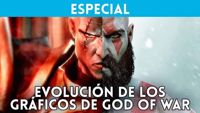Así han evolucionado los gráficos de la saga God of War de PS2 a PS4