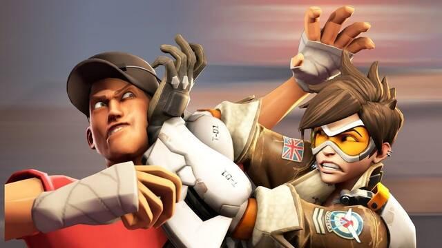 Combina Overwatch con Team Fortress 2 en un divertido vídeo