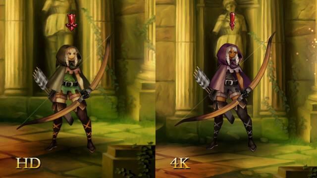 Dragon's Crown Pro compara sus gráficos 4K con la versión original