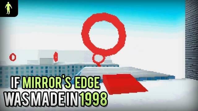 Así se vería Mirror's Edge de haber salido en 1998